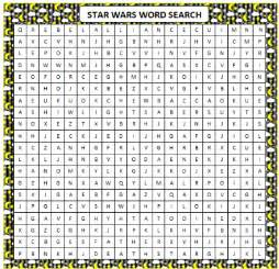 What other words can you think of for a star wars word search i don