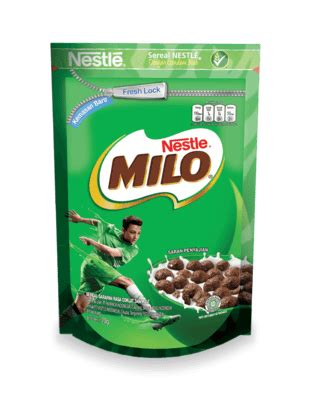 sereal nestle milo cereal pouch produk nestle cereals