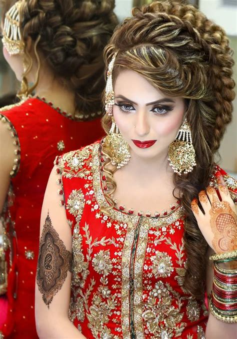 hairstyles indian dress makeup by kashee s beauty parlour bridal makeup
