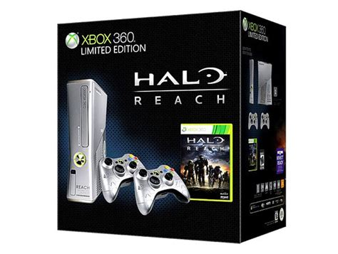 halo reach xbox 360 console halo reach microsoft xbox 360 slim limited edition