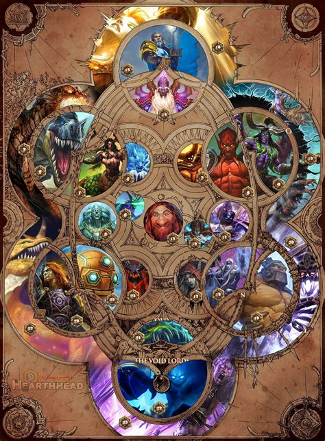 world of warcraft chronicle 1616558458 warcraft chronicle cosmology map told via hearthstone cards