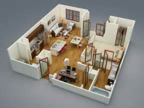 House Apartment Design Plans 50 One 1 Bedroom Apartment House Plans Architecture