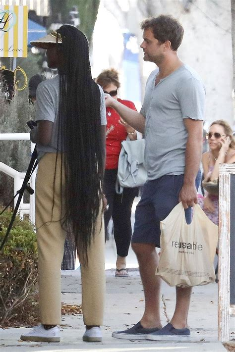 Actor Joshua Jackson And His Stunning New Long Haired