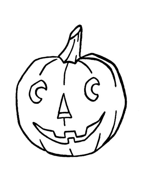 smiling pumpkin coloring pages halloween coloring page sheets easy smiling pumpkin