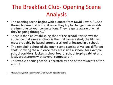 The Breakfast Club Essay by Breakfast Club Analysis Essay