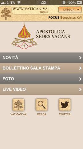 sito ufficiale santa sede vatican va l app ufficiale vaticano approda su app