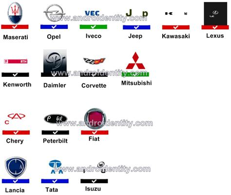 car logos quiz very popular logo car logo part 01