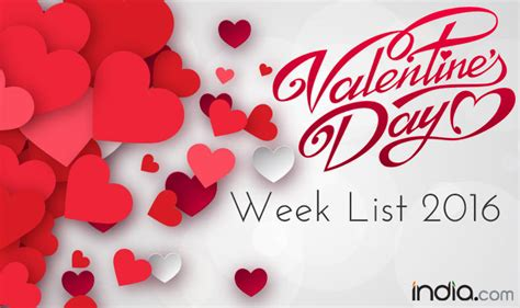 list of days before day week list 2016 day propose day day