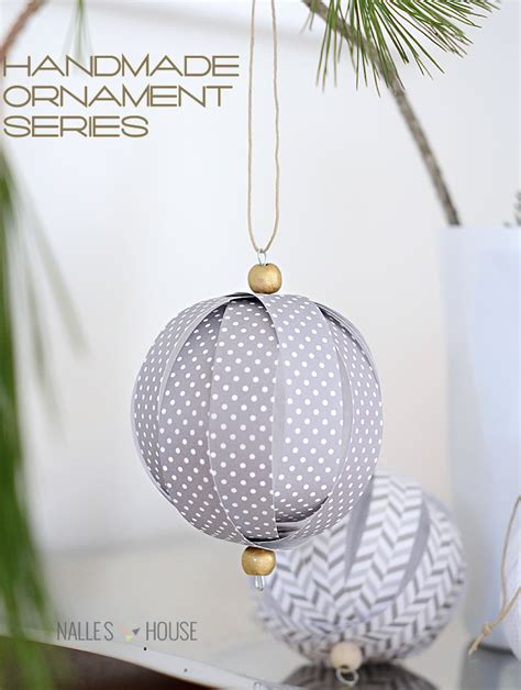 Handmade Paper Ornaments - 25 handmade ornaments
