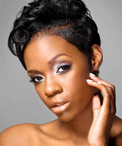 short cut with feathers african americans styles short hairstyles short cut hairstyle for natural hair