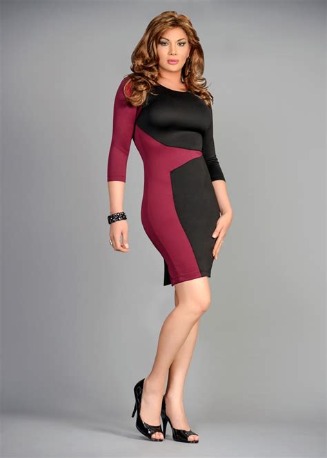 slimming colors cdbfstore slimming color block dress fits transgender