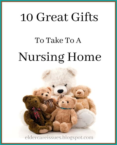 gift for home 10 gifts you should absolutely take to a nursing home