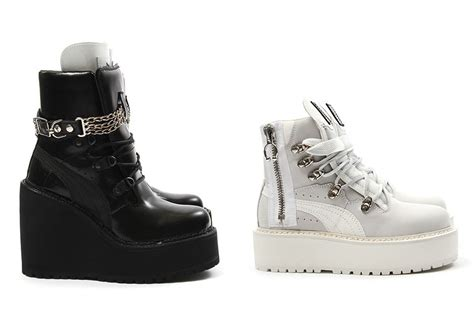 shoes by rihanna rihanna sneaker boot s release sneakernews