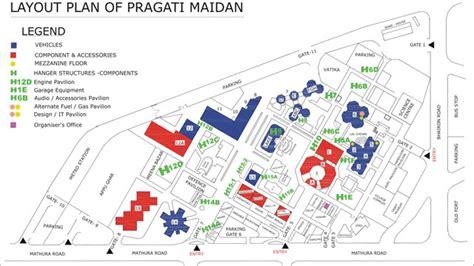 layout plan pragati maidan an auto buff s guide to the auto expo travel india com