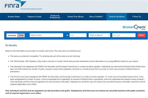 Finra Number Search Oh Unauthorized Trading Patti O Furniture And Finra S Brokercheck