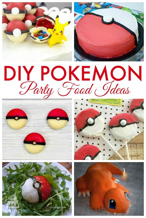 party themes diy diy pokemon party ideas mum in the madhouse