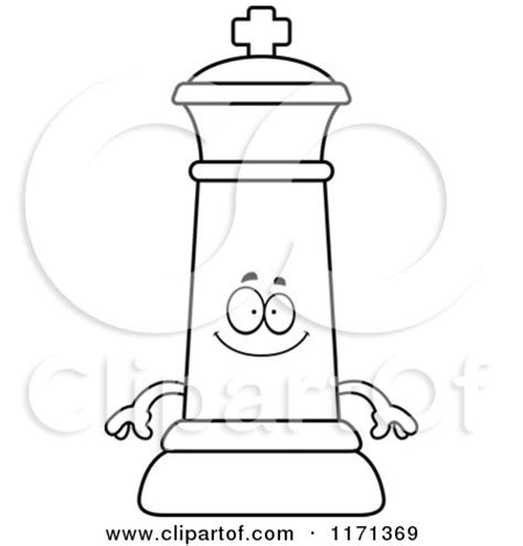 chess king coloring page royalty free rf clipart of chess kings illustrations