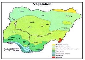 Where Is Nigeria On A World Map by Nigeria Maps