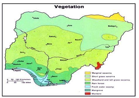 nigeria africa map nigeria maps