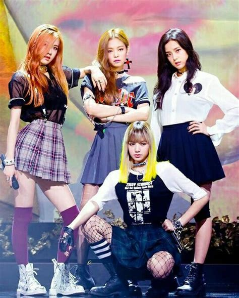 blackpink boombayah black pink boombayah outfit