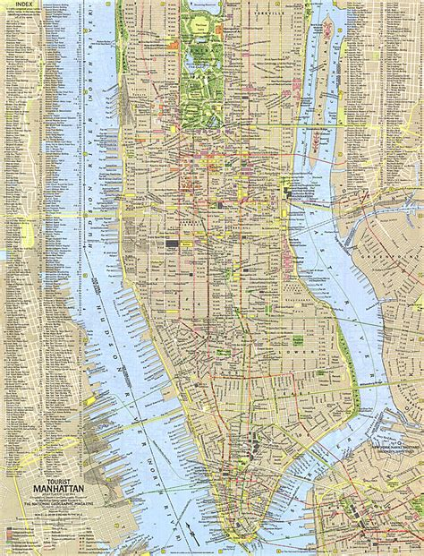 manhattan city map maps update 14882105 manhattan tourist map pdf new