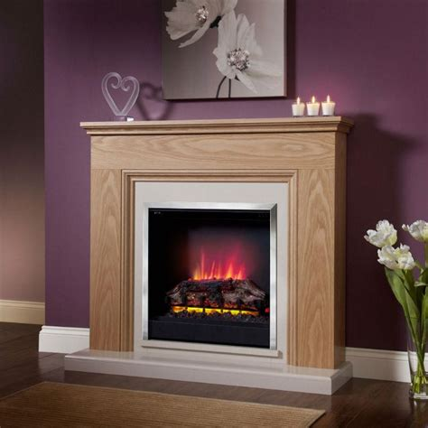Eco Fireplaces by Be Modern Stanton Eco Electric Fireplace Oak
