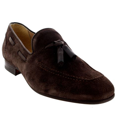 work loafers mens h by hudson suede smart slip on work loafers