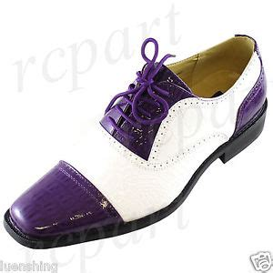 new s dress shoes fashion formal lace up purple white
