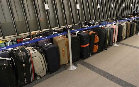united baggage claim united express has major baggage issues at denver airport