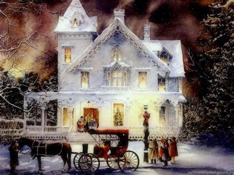 christmas wallpaper old fashioned old fashioned christmas wallpapers desktop background