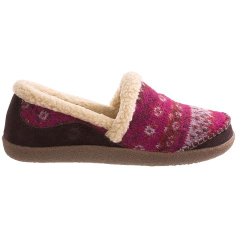 acorn house shoes acorn crosslander moc slippers for women 7649j save 61