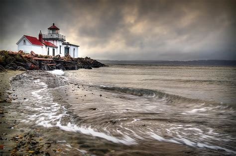West Point Light by West Point Light House Photograph By Smith
