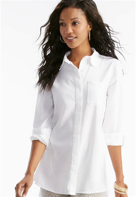 swing blouses shirts textured button down swing shirt shirts blouses cato