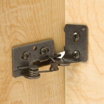 Snap Closing Glass Door Hinges 1000 Ideas About Concealed Hinges On Kreg Jig