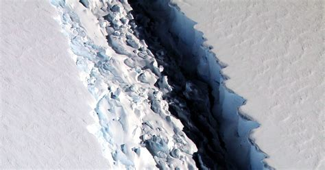 Larsen Shelf by Scientists Look To The Rift In Larsen C To Update Antarctic Shelf Models Wired