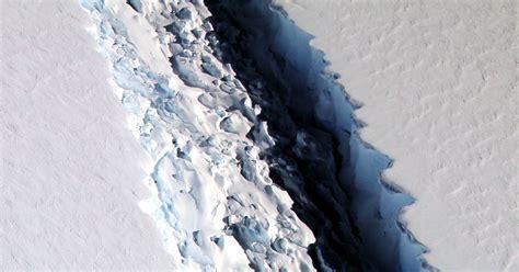 Larsen Shelf by Scientists Look To The Rift In Larsen C To Update