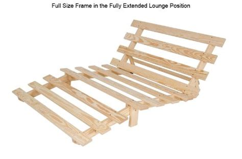 Solid Wood Futon Frame by Size Economy Futon Frame Solid Wood Chemical Free