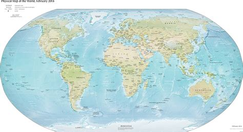 the map the world factbook