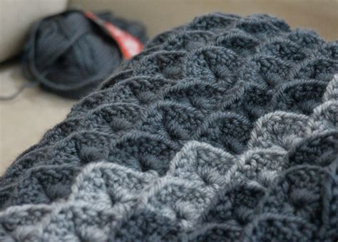 Crocodile Stitch Crochet Blanket by Crocodile Stitch Blanket