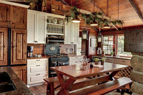 Rustic Kitchen Lighting Ideas Rustic Kitchens Design Ideas Tips Inspiration