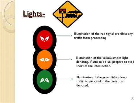 safety lights and signals traffic