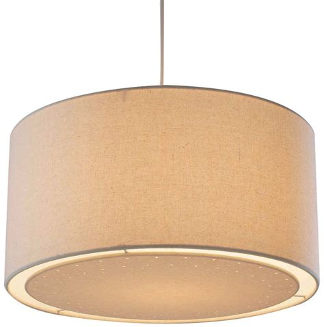 dar edward fabric drum ceiling l shade edw6533