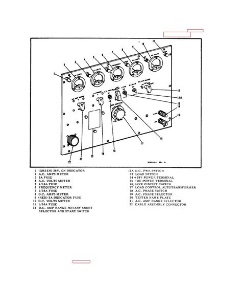 trademark section 15 figure 1 3 panel assembly front view