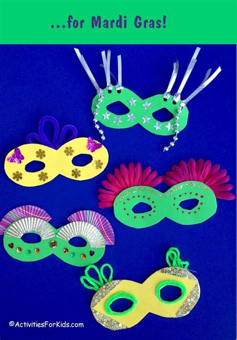 How To Decorate A Mask by 25 Best Images About Mardi Gras Crafts Activities On