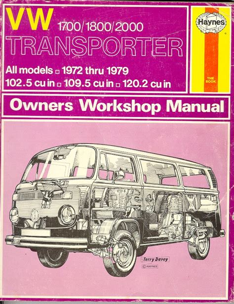 old car owners manuals 1990 volkswagen type 2 security system thesamba com vw archives type 2 books