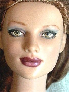 fashion doll repaint tutorial 9 best doll painting images on doll