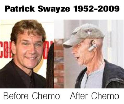 Chemo Meme - patrick swayze dead at 57 after chemotherapy for