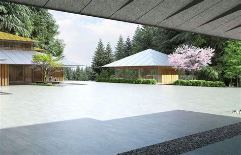 designboom garden kengo kuma to expand portland japanese garden with scenic