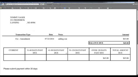 Billing Your Clients Balance Due Invoices Youtube Balance Due Invoice Template