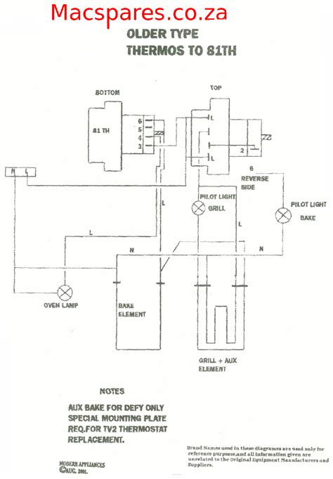 robertshaw oven thermostat wiring diagram throughout 9520